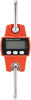 D DOLITY Mini Digital Crane Scale 300kg/600lbs with LCD Display (Plastic Shell)