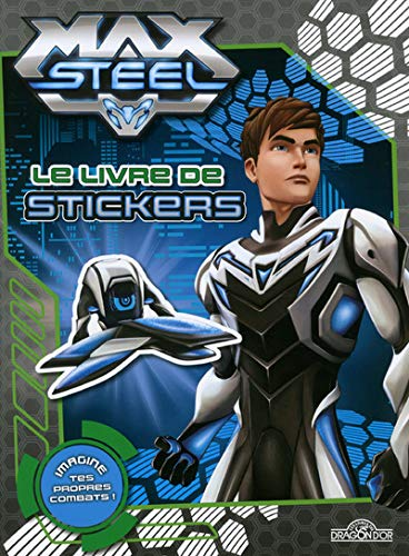 Le livre de stickers Max Steel