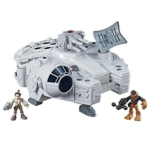 Super Hero Adventures Star Wars Millennium Falcon Preschool Figures & Playset