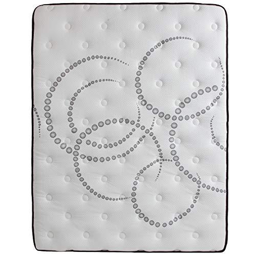 Flash Furniture Capri Comfortable Sleep 12 Inch Foam and Pocket Spring Mattress, Queen in a Box