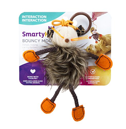 SmartyKat Bouncy Mouse Cat Toy Bungee Toy Now $1.97 (Was $5.95)