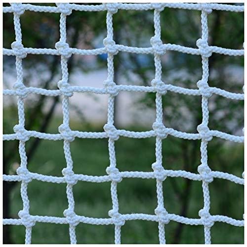 XXN Klettern Net,Kind Erwachsene Draussen Nylon Klettern Sicherheit Schutz Seil Geländer Treppe Balkon Zaun Dekoration Ladung Fest,Cargo Strickleiter LKW Schweres Decknetz Durchmesser von 12mm