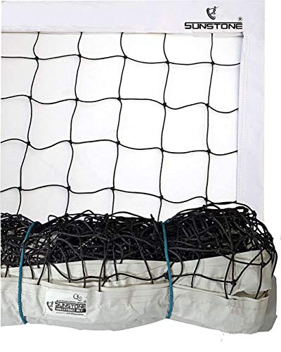 SUNSTONE Volleyball Net F700 4 Side TETRON Tape Heavy Duty Nylon Standard Size