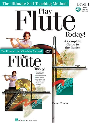 Play Flute Today! Beginner's Pack: Book/Online Audio/DVD Pack