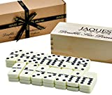 Jaques of London Dominoes - Club Double Six Domino in