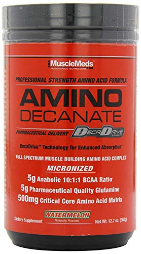 Muscle Meds Amino Decanate (30 serv) 1 unidad 384 g