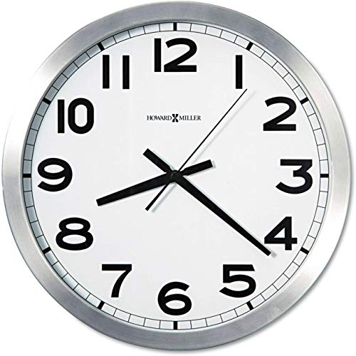 Round Wall Clock, 15-3/4in Part: 625450 by HOWARD MILLER CLOCK CO.