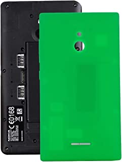 Battery case Jrc Battery Back Cover for Nokia XL (Black) Mobile phone accessories (Color : Green)