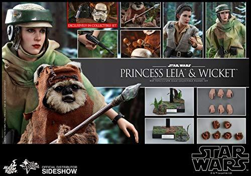 Hot Toys Star Wars Episode VI Movie Masterpiece Action Figure 2-Pack 1/6 Princess Leia &