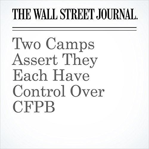 Two Camps Assert They Each Have Control Over CFPB copertina