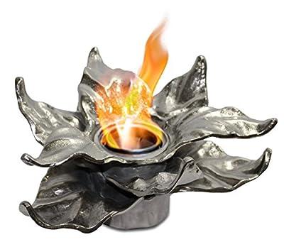 Anywhere Fireplace Heathcote Botanical Gel Fireplace (Silver)
