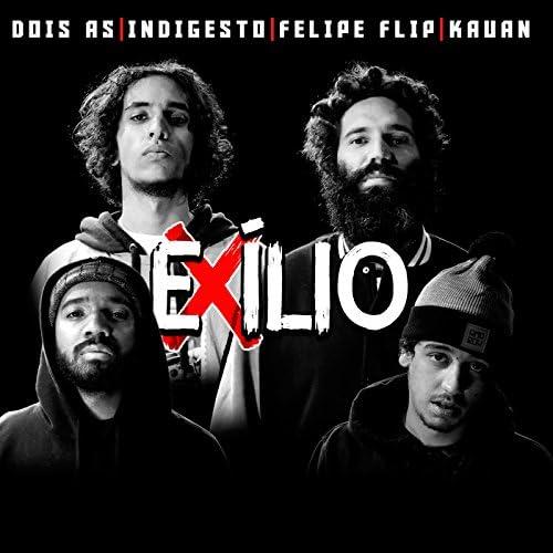 Kauan, INDIGESTO, Felipe Flip, Dois As & Rap Box