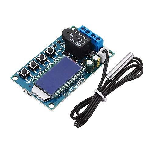YUQIYU XY-T01 Termostato Digital Refrigeración Calefacción Interruptor de Control de Temperatura del regulador de Temperatura del módulo Accesorios