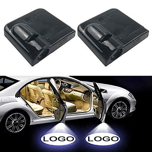 1 unids inalámbrico LED puerta de coche Bienvenido Láser...