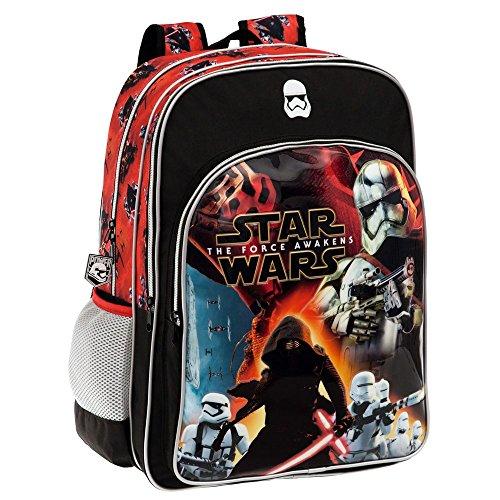 Disney Star Wars Battle Set de Sac Scolaire, 42 cm, Noir 25924A1