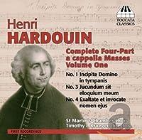 アンリ・アルドゥアン:四部のカペラ・ミサ全集 第1集(Henri Hardouin: Complete Four-Part a cappella Masses, Volume 1)