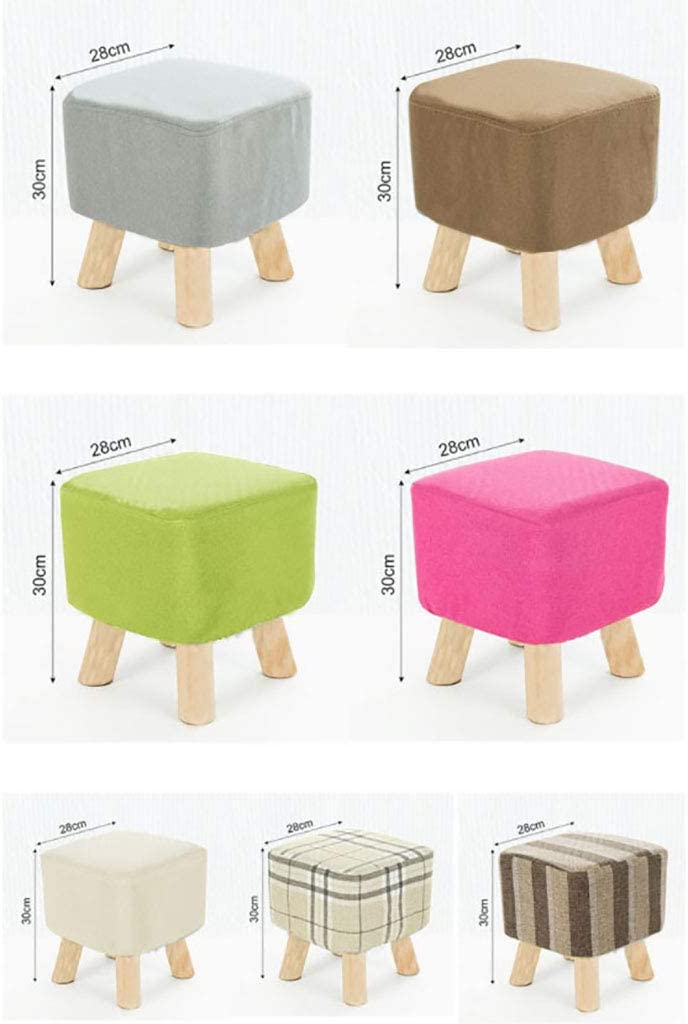 DZ- Tabouret Sofa - Tabouret Salon Petite (Color : B) A