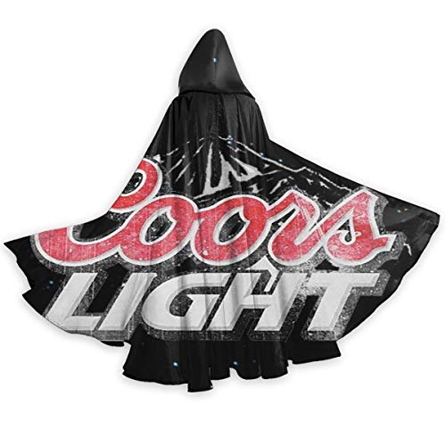 Sherrygeoffrey Coors Light Beer Adult Halloween Costumes Capes Cloak Unisex