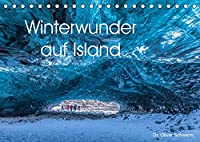 Winterwunder auf Island (Tischkalender 2022 DIN A5 quer): Traumhafte Winterlandschaften auf Island laden Monat fuer Monat zum Staunen ein. (Monatskalender, 14 Seiten )