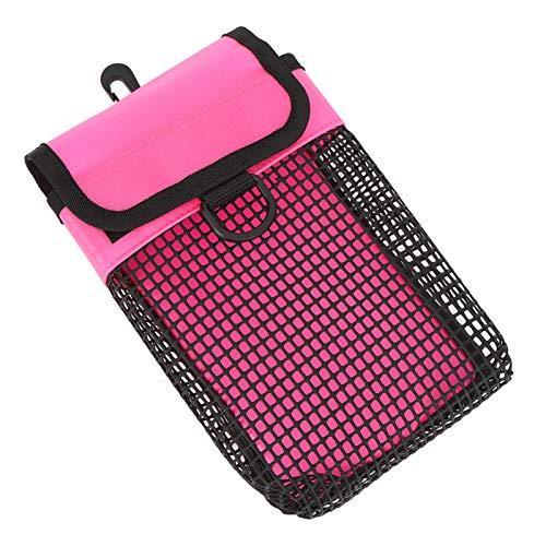 SALUTUYA Diseño de Bolsa de Malla para Accesorios de Buceo Conveniente, para almacenar Sujetadores, para almacenar Boyas marcadoras de Seguridad de Buceo