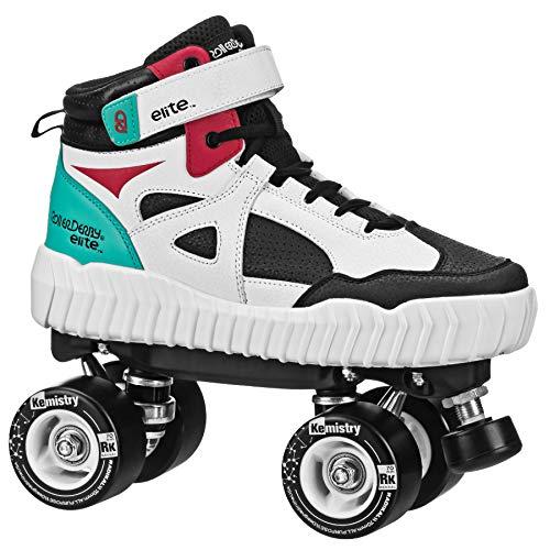 Roller Derby Elite Glidr Sneaker Skate Red/Black Size Mens8/Womens9