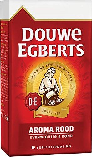 Douwe Egberts Aroma Rood Ground Coffee, 250g (Pack of 1)
