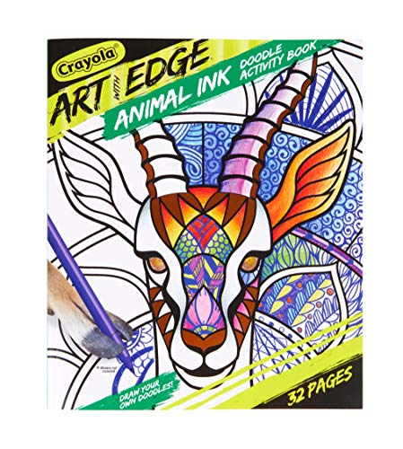 Crayola Jungle Animal Coloring Book, Teen & Adult Coloring, 32 Pages (Cover May Vary)