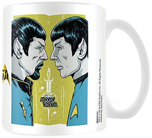 Star Trek Mirror Mirror Boxed Coffee Gift Mug Cup TV Movie Spock Vulcan Official