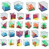 THE TWIDDLERS Set de 28 Mini Juegos Rompecabezas - Puzzle Juegos con Niveles Diferentes