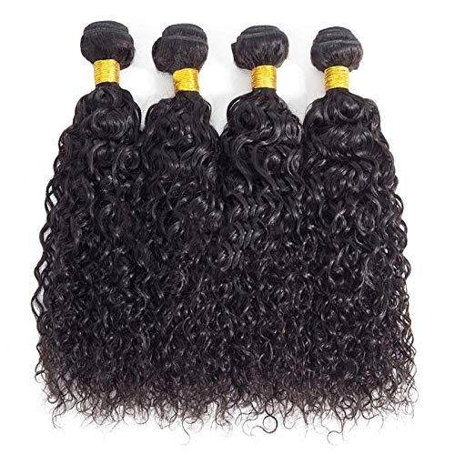 10A Brazilian Remy Curly Human Hair 4 Bundles 20' 22' 24' 26' 400g Brazilian Virgin Remy Kinky Curly Weave Hair Bundles 100% Unprocessed Virgin Remy Human Hair Bundles Natural Color