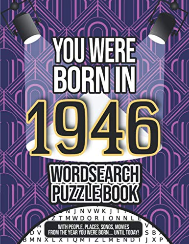 You Were Born In 1946 Word Search Puzzle Book