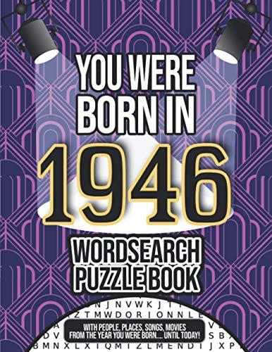 Born in 1946 Word Search Puzzle Book