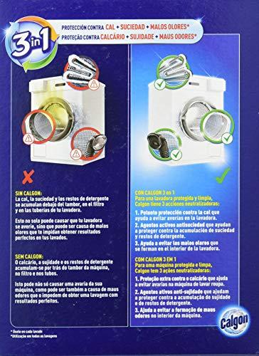 Calgon Antical para Lavadora en Polvo, 500 g, Multicolor