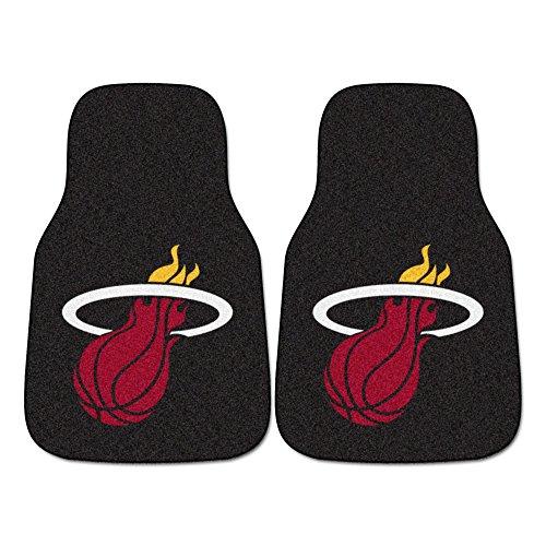 FANMATS - 9560 NBA Miami Heat Nylon Face Carpet Car Mat 18'x27'