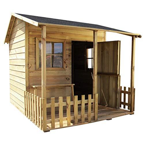 GardeTech Spielhaus Malvina aus FCS-Holz...