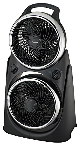 Honeywell HT-8800E Ventilador turbo doble, 50 W