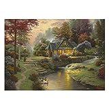 Schmidt Puzzle 1000 Piezas - Stillwater Cottage - T. Kinkade (código 58464)