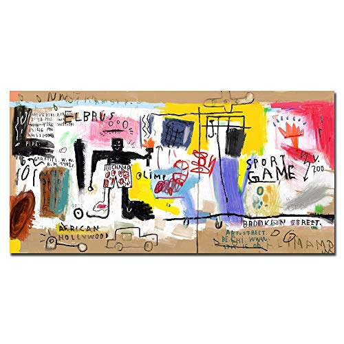 Graffiti moderno Arte callejero Dibujos animados Patrón abstracto Lienzo inspirador Pintura Arte de la pared Póster Impresiones Niño Niños Dormitorio Sala de estar Estudio Decoración para el hoga