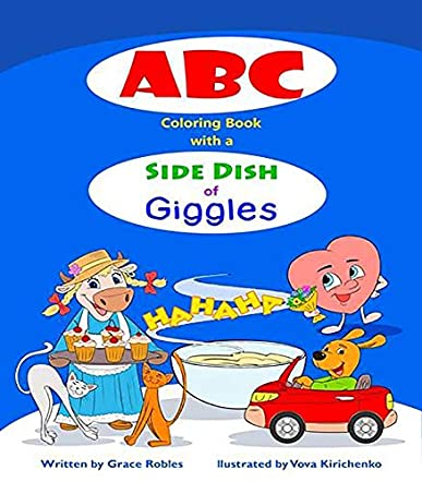 ABC Coloring Book with a Side Dish of Giggles