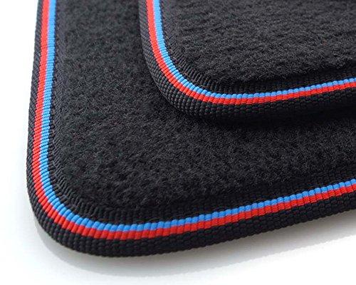 kh Teile Fußmatten/Velours Automatten Premium M-Edition 4-teilig schwarz