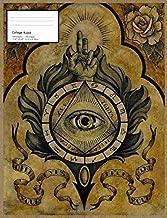 Illuminati Eye Notebook: Cool & Mysterious Illuminati All Seeing Eye Notebook (College Ruled)
