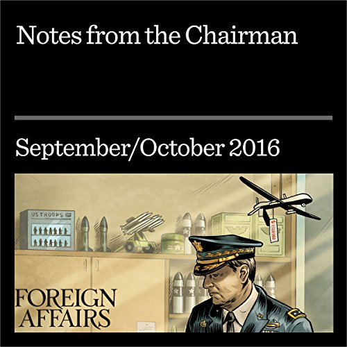 Notes from the Chairman audiobook cover art