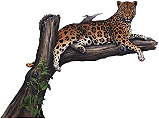 Walls of the Wild Leopard Wall Mural
