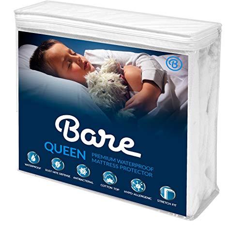 Bare Home Queen Size Premium Mattress Protector - 100% Waterproof -...