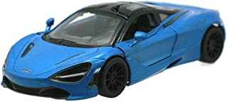Kinsmart McLaren 720s Blue 1:36 DieCast Model Toy Car Collectible Hobby Super Sport Car Collection