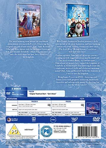 Disney's Frozen Doublepack DVD [2019]