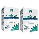 ARRÊBUM Pack 2X60 Comprimidos | Piel y cuero cabelludo grasos | aporta una combinación esencial de vitaminas, minerales y extracto de plantas