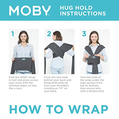 Moby Wrap MCBOX002 Babytragetuch - 5