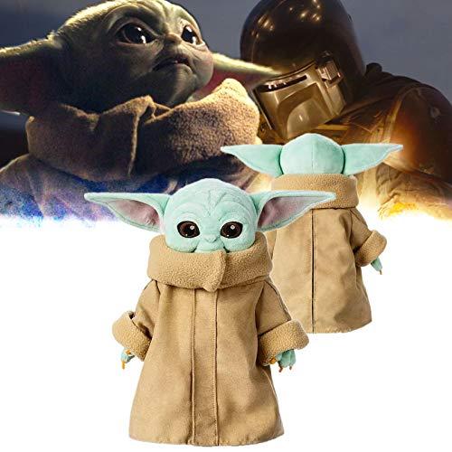 ZYW Baby Yoda Star Wars Plüschtier, 30 Stück Baby Yoda Gefüllte Puppe Für Kinderpuppe 30 cm
