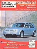 E.T.A.I - Revue Technique Automobile 622.2 - VOLKSWAGEN GOLF IV - 1J - 1998 à 2004